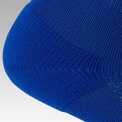 Voetbalsokken / voetbalkousen kind F100 blauw