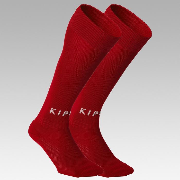 Voetbalsokken voor kinderen F100 rood