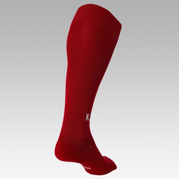 Chaussette de football enfant F100 rouge