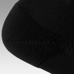Chaussettes de football adulte F100 noir