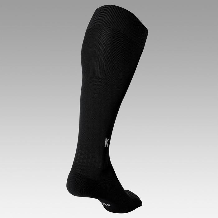 Chaussette de football adulte F100 noire