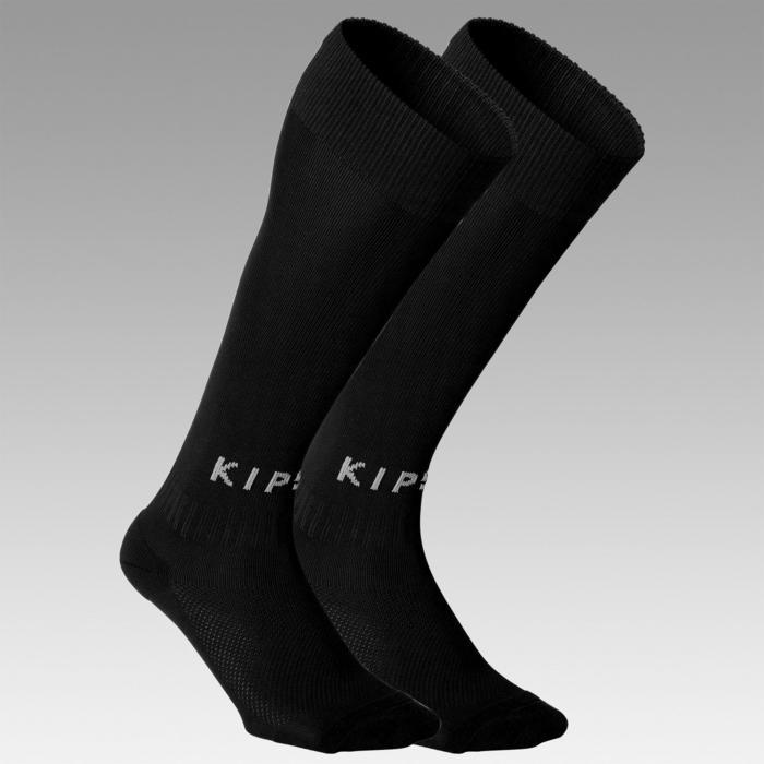 Chaussettes de football adulte F100 noire