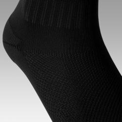 Voetbalsokken / voetbalkousen kind F100 zwart