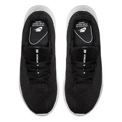 Herensneakers voor sportief wandelen Viale zwart / wit