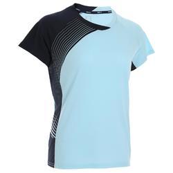 女款T恤530-藍色及軍藍配色