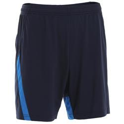 Pantalon corto bádminton perfly 530 hombre negro y azul