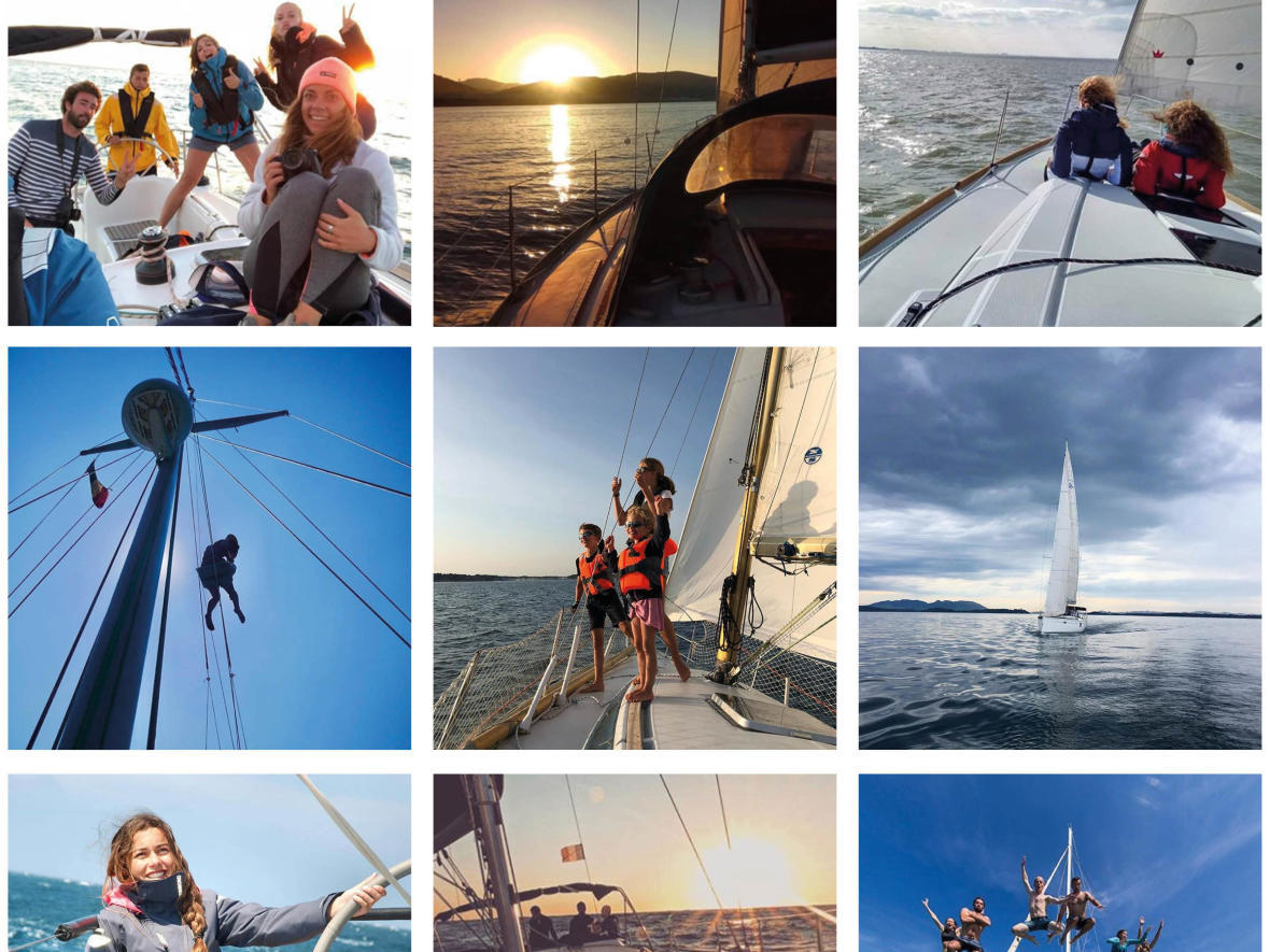 Share your best sailing trip photos