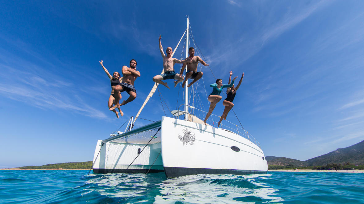 You will never get bored during a sailing trip