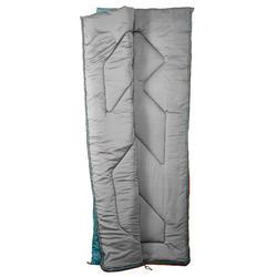 Saco Dormir Camping Quechua 10º Adulto Azul Claro
