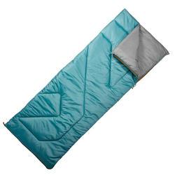 Kampeerslaapzak Arpenaz 10° turquoise
