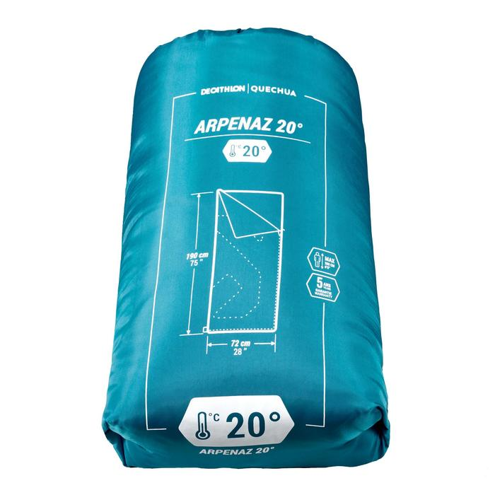Camping Sleeping Bag Arpenaz 20°