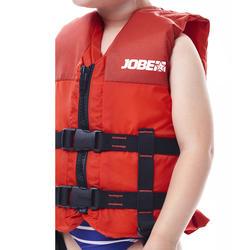 Vest voor gesleepte watersporten 50 Newton Jobe Scribble kinderen rood