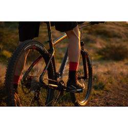 "Mountainbike ST540 MTB 27,5"" schwarz/neonrot"