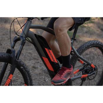 Fahrradschuhe MTB ST 500 rot