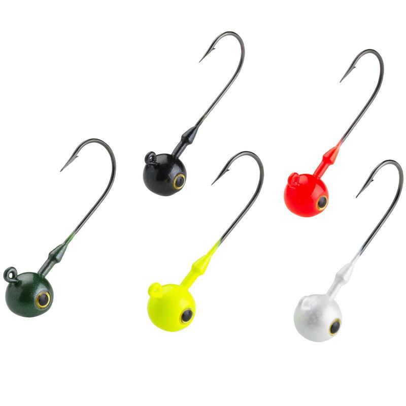 Coloured Round Jig Head 10 G Lure Fishing