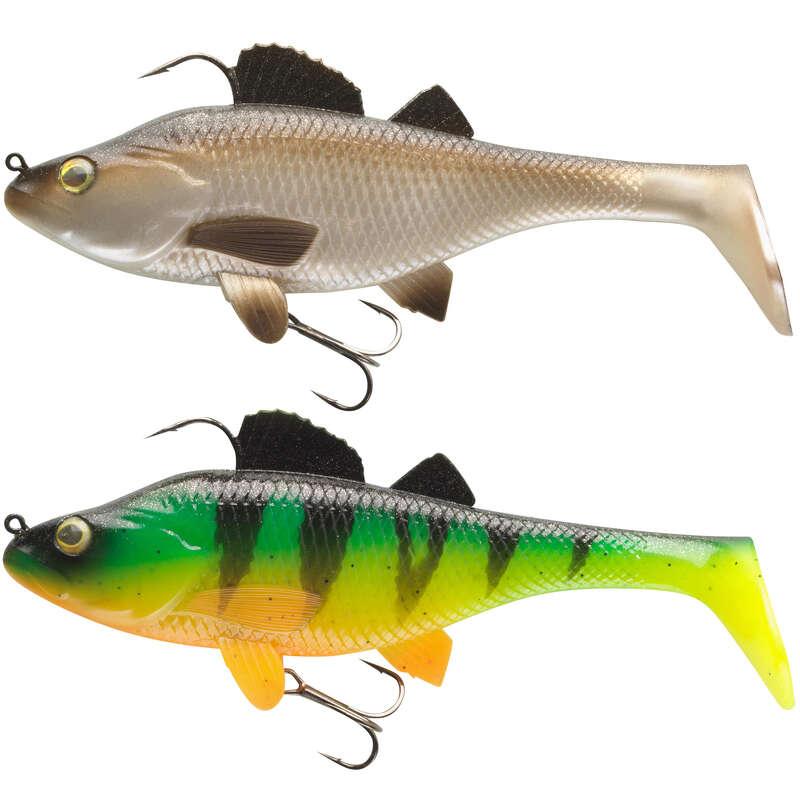 ARTIFICIALI MORBIDI LUCCIO Pesca - Kit PERCH 170 RTC NATUREL CAPERLAN - Pesca