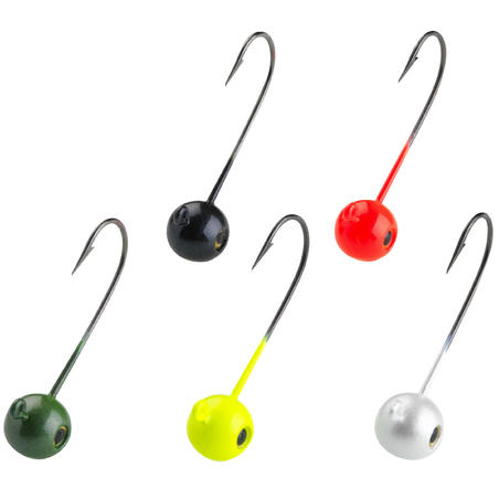 Coloured Round Jig Head 5 G Lure Fishing