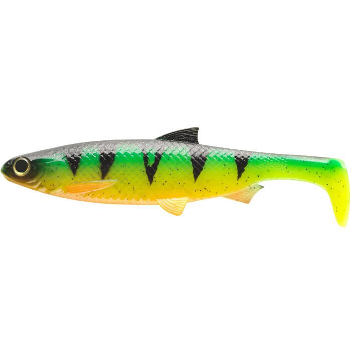 Gummiköder Shad Roach 190 Firetiger Spinnfischen