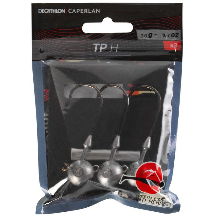 Cabeza plomada para pesca con señuelos TP H 20 g 6/0