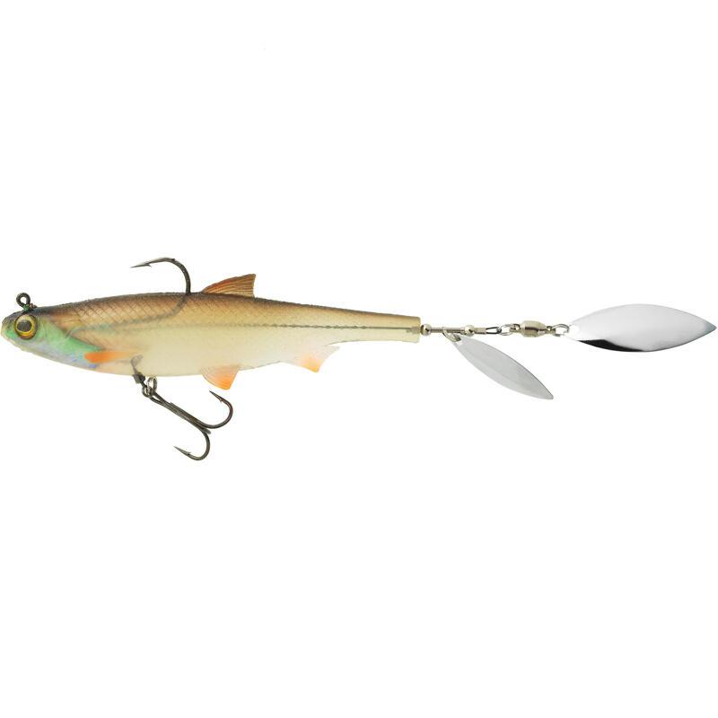 Nălucă flexibilă SHAD cu paletă Pescuit cu năluci ROACHSPIN 120 Babușcă