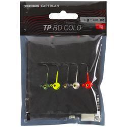 Kleurrijke loodkop kunstaasvissen TP RD Colo 2 g