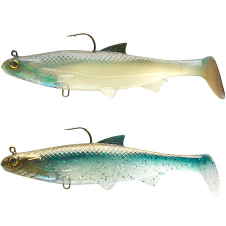 KIT ROACH RTC 120 BLEAK / BLUE BACK LURE FISHING SHAD SOFT LURE