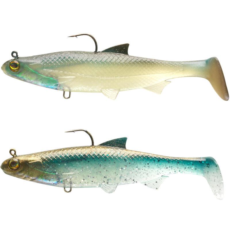 Kit shad pesca con artificiali morbidi ROACH RTC 120 multicolor
