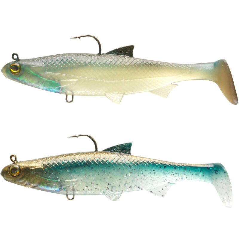MĚKKÉ NÁSTRAHY DRAVÉ RYBY Lov dravých ryb - SADA ROACH RTC 120 MULTICOLOR2 CAPERLAN - Nástrahy a bižuterie