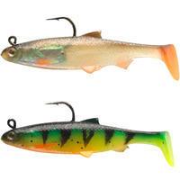 RTC 60 ROACH Kit Lure Fishing Soft Shad Lure Roach/Firetiger