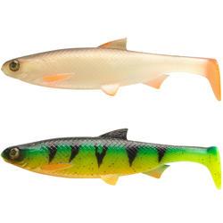 Gummifische Spinnfischen Shad Roach RTC 160 Plötze/Firetiger