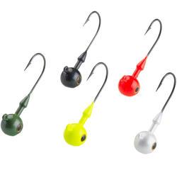 Gekleurde loodkoppen voor kunstaasvissen RD COLO 7 g