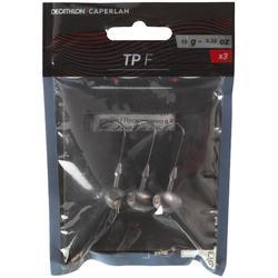 Cabeza plomada football pesca con señuelos TP F 10 G