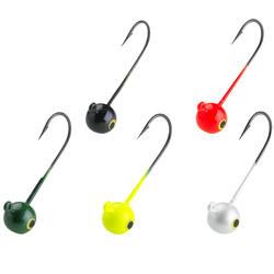 路亞釣魚彩色鉛頭鉤JH RD COLO 3.5 G
