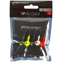 Coloured Round Jig Head 7 G Lure Fishing