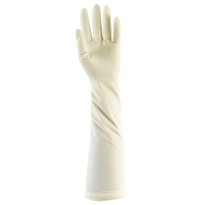 Set of 2 pairs of long venison hunting gloves