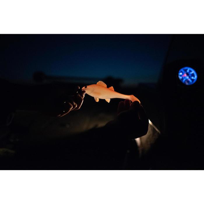 LEURRE SOUPLE SHAD PECHE AUX LEURRES KIT PERCH 170 FIRETIGER / ORANGE