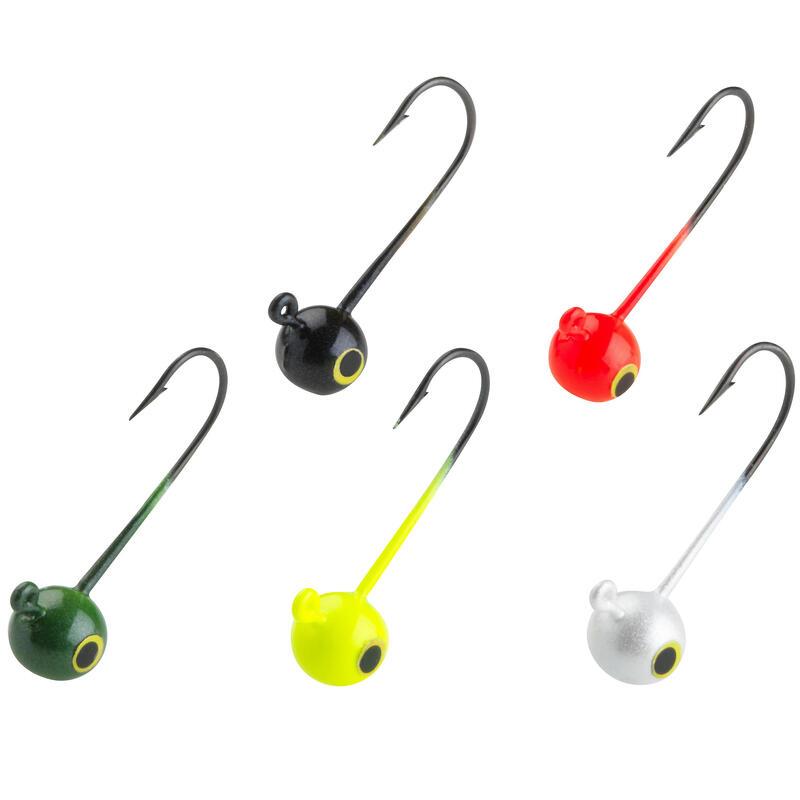Renkli Silikon Yem Jig Headler - 2 g - Sahte Yemle Balıkçılık