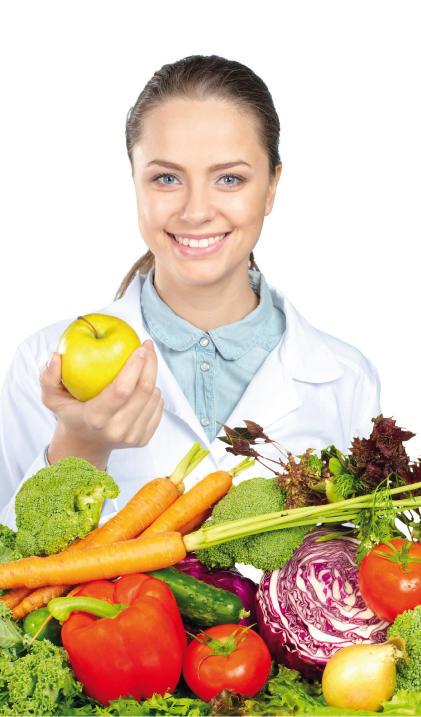 gezonde groente voedingsdeskundige