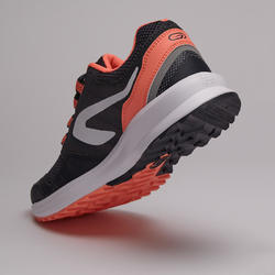 RUN ACTIVE GRIP WOMEN'S RUNNING SHOES - GREY CORAL