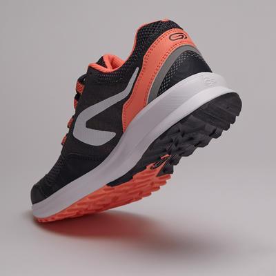 Жіночі кросівки Run Active Grip для бігу - Сірі/ Коралові