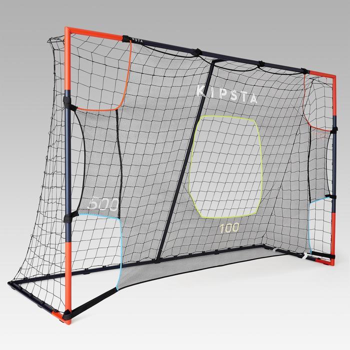 Lona de precisión de fútbol Kipsta para portería talla 3 x 2 m gris