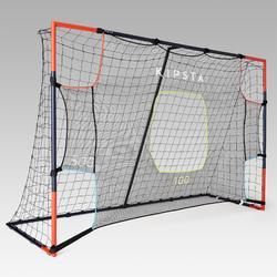Target shot voor voetbaldoel SG 500 L en Basic L 3x2m grijs