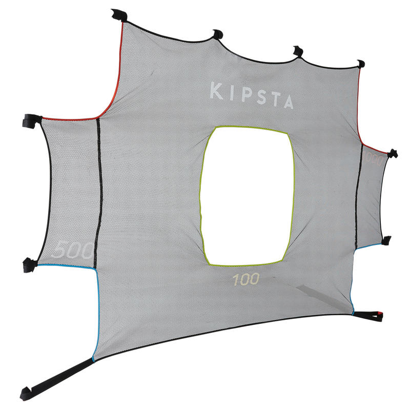 Football Target Practice Cover for SG 500 L and Basic Goal Size L 3x2m - Grey