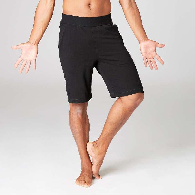 MAN YOGA APPAREL Clothing - Gentle Yoga Shorts DOMYOS - By Sport