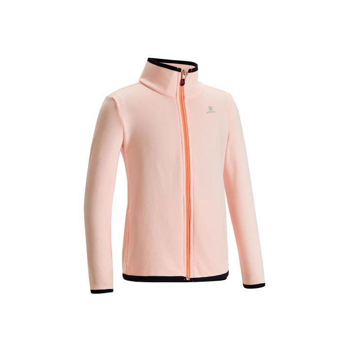 女童透氣保暖健身合成外套S500 - 粉紅色