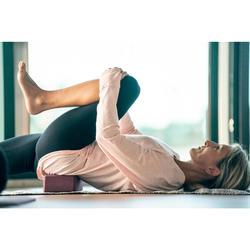Yogablock Schaumstoff bordeaux