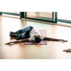 Yogablock Schaumstoff dunkelgrau