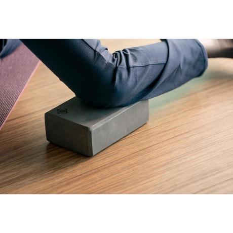 brique yoga mousse gris fonce domyos by decathlon. Black Bedroom Furniture Sets. Home Design Ideas