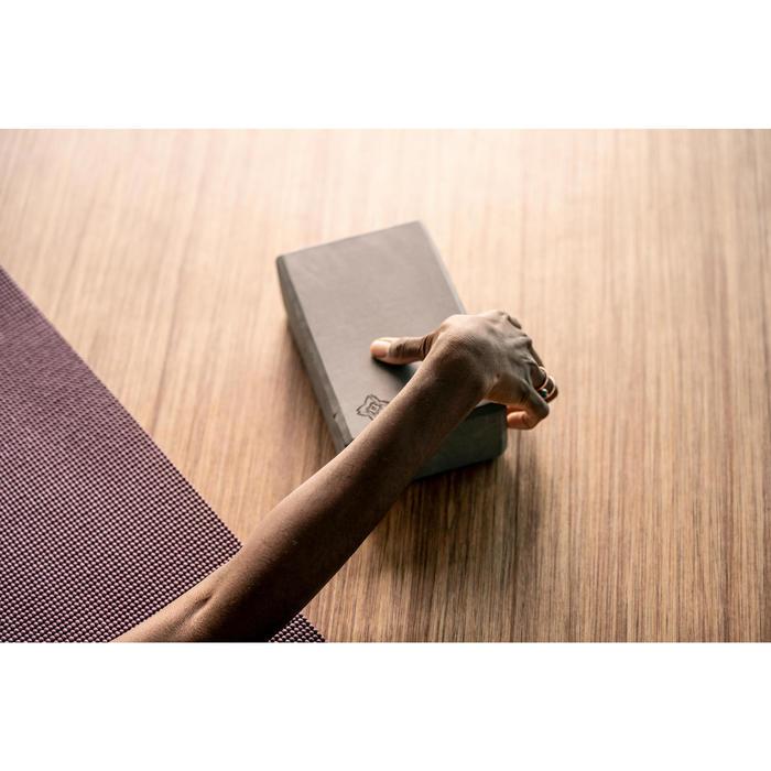 泡棉瑜珈磚 - 深灰色