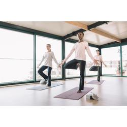 Yogamatte 8mm bordeaux